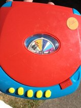 Toy CD player in Fort Lewis, Washington