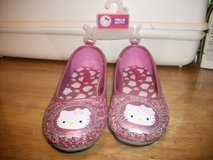 #3000 HELLO KITTY GIRL PINK SPARKLE SHOE NEW SZ 1 in Fort Hood, Texas
