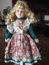 "Victorian Porcelain Doll 16"" by Susan Harris in Las Cruces, New Mexico"